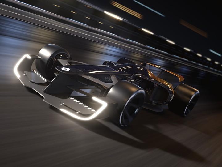 Концерн «Рено» показал возможный внешний вид машины Формулы-1 в 2027 году