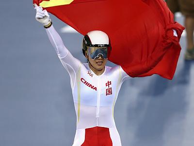 Лондон-2012. Велоспорт. Китай