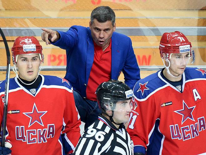 Дмитрий Квартальнов, ХК ЦСКА