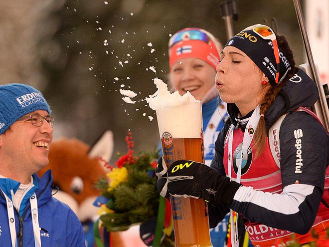 Лучшие фотографии этапа Кубка мира по биатлону в Рупольдинге
