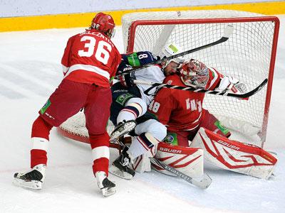Итоги игрового дня КХЛ (24.11.2013)