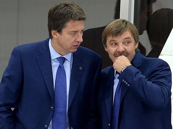 Харийс Витолиньш и Олег Знарок