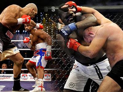 Бокс vs MMA