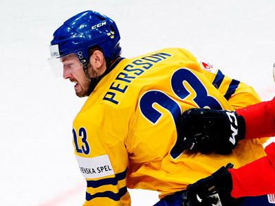 Нападающий сборной Швеции Никлас Перссон оценил свою игру с Чехией