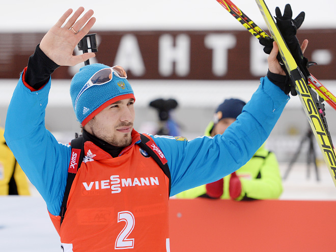 Антон Шипулин выиграл Кубок в масс-старте