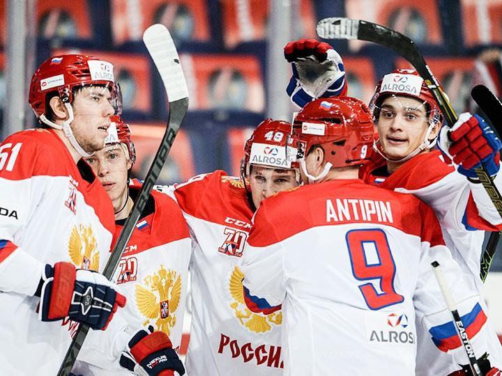 Хоккей. Евротур. Чехия – Россия. Онлайн-трансляция 6 ноября 2016 года