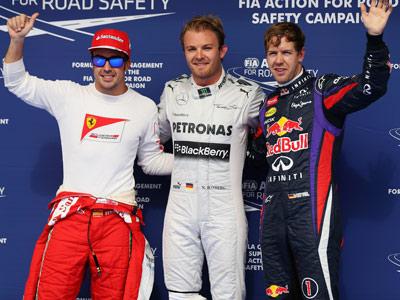Росберг выиграл квалификацию Гран-при Бахрейна Ф-1