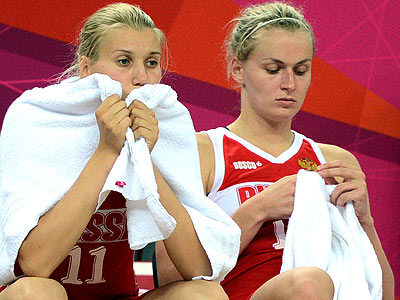 Лондон-2012. Баскетбол. Женская сборная России