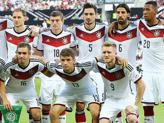 Сборная Германии сыграет с Португалией