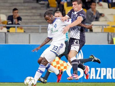 Последний матч динамовцев в 2012 году