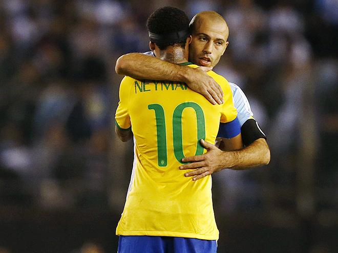 Аргентина — Бразилия. Обзор матча — 1:1