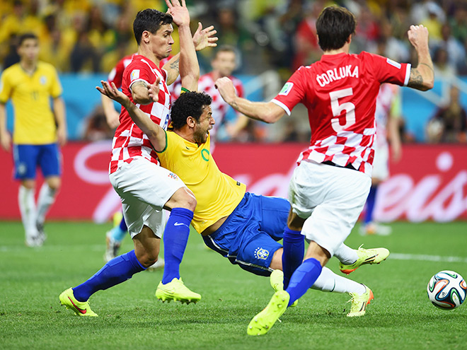 Бразилия обыграла Хорватию