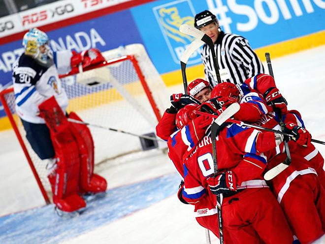 Сборная России выиграла у Финляндии на МЧМ – 6:4