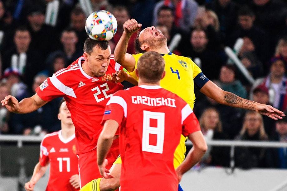 League of Nations. russia-sweden-0:0