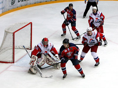 ВХЛ. «Зауралье» - «Локомотив» - 2:1 ПБ
