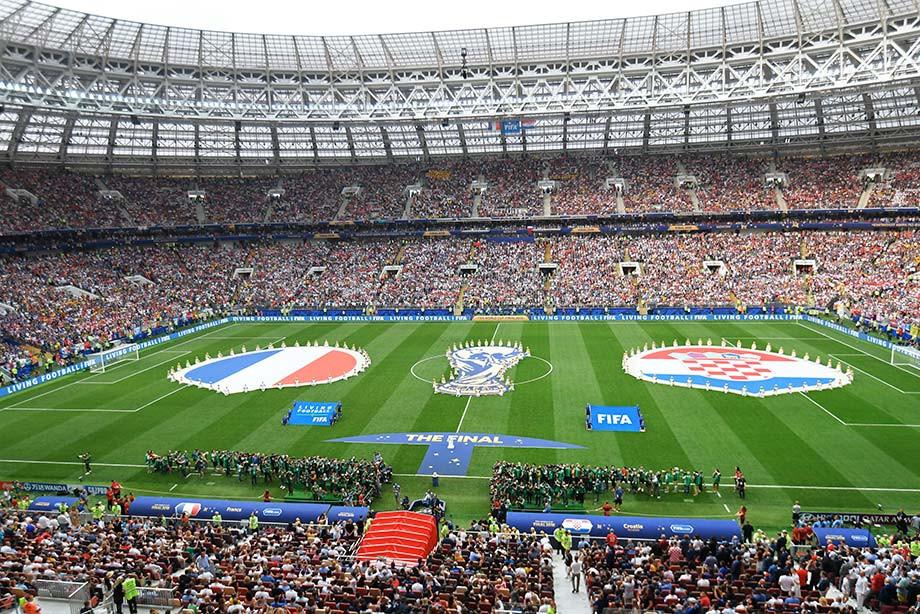 В столице России прошла церемония закрытия Чемпионата мира