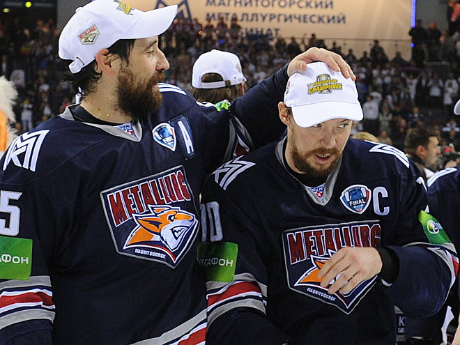 Данис Зарипов и Сергей Мозякин