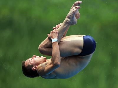 Виктор Минибаев – о квалификационном турнире по прыжкам воду в Лондоне