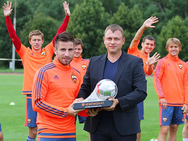 Олег Лысенко и Зоран Тошич