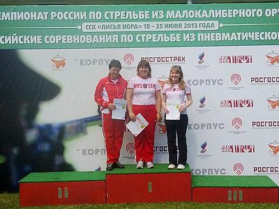 Итоги первого дня чемпионата России по стрельбе
