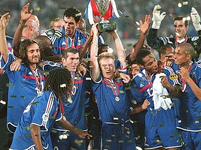 Судьбу чемпионата Европы-2000 решил «золотой гол» Давида Трезеге