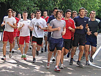 """Хоккеисты МХК """"Спартак"""" приступили к подготовке к сезону"""