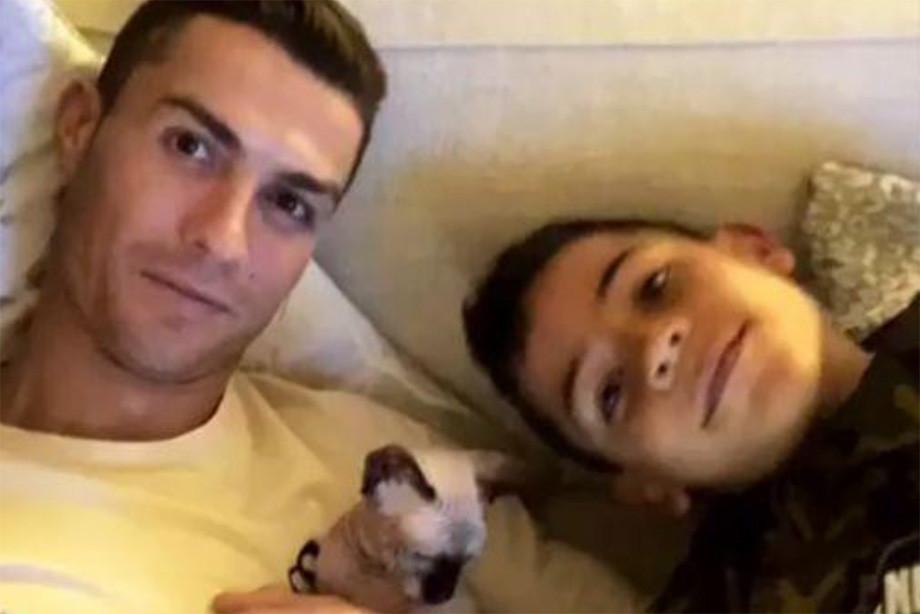 Роналду завёл кота-сфинкса. Теперь у него дома целый зоопарк
