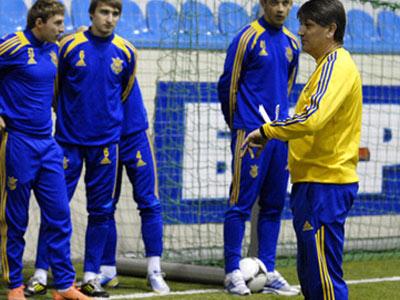 """Украинская """"молодёжка"""" сыграет с Литвой"""
