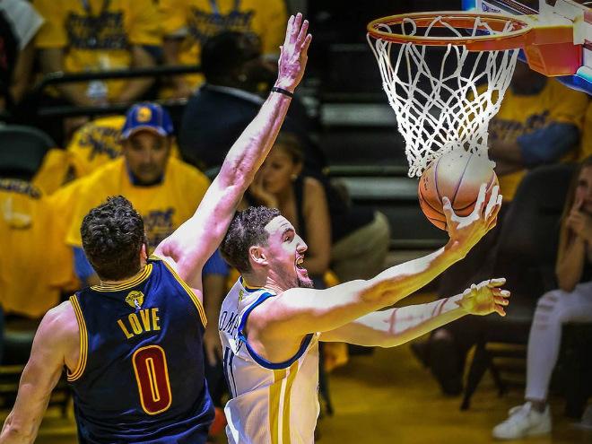 Дрэймонд Грин набрал 28 очков во втором матче финала НБА
