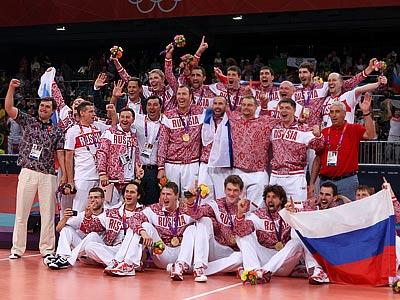 Волейболисты России поздравляют c Новым годом