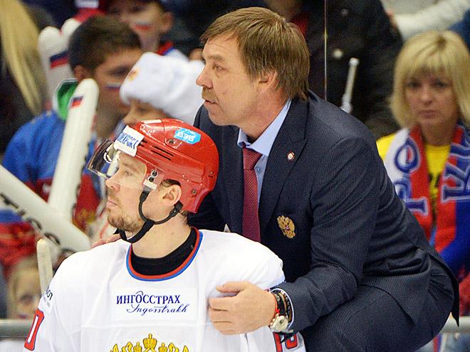 Сергей Мозякин и Олег Знарок