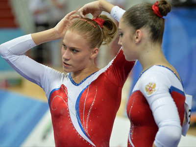 Ксения Афанасьева и Алия Мустафина