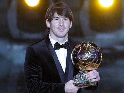 Месси — лучший футболист планеты