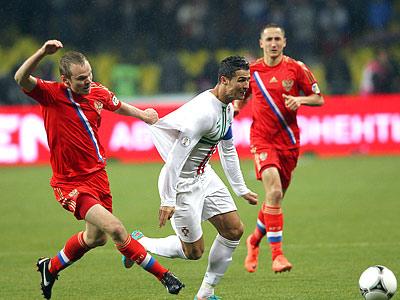 Четыре главных факта о матче Португалия - Россия
