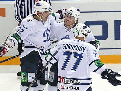 «Динамо» выиграло у ЦСКА - 6:4