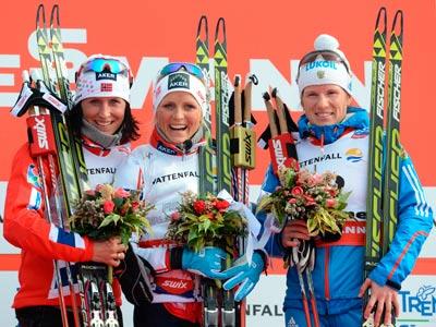 Чекалёва завоевала третью медаль сборной России