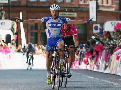"""Лука Паолини выиграл 3-й этап """"Джиро д'Италия"""""""