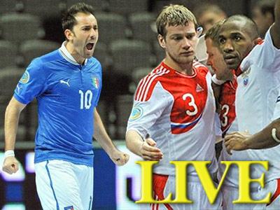 Сборная России сыграла вничью с Италией на Евро-2012