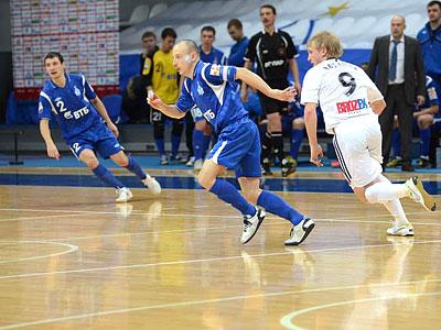 В субботу пройдёт пять матчей чемпионата России по мини-футболу