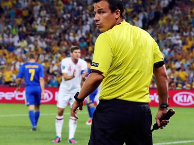 Украинский рефери о судействе на Евро-2012