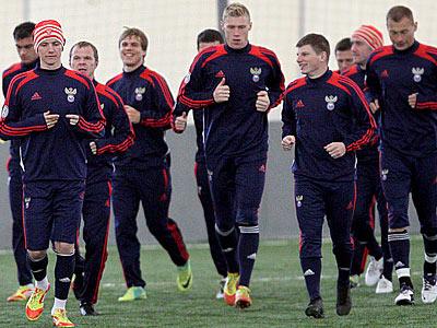 Россия сыграет товарищеский матч с Данией