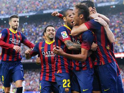"Примера. 10-й тур. ""Барселона"" — ""Реал"""