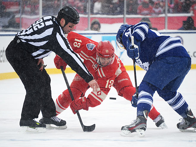 Как американцы меняют правила хоккея