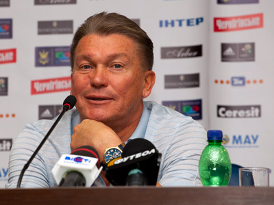 Блохин: основа сборной будет из ведущих клубов