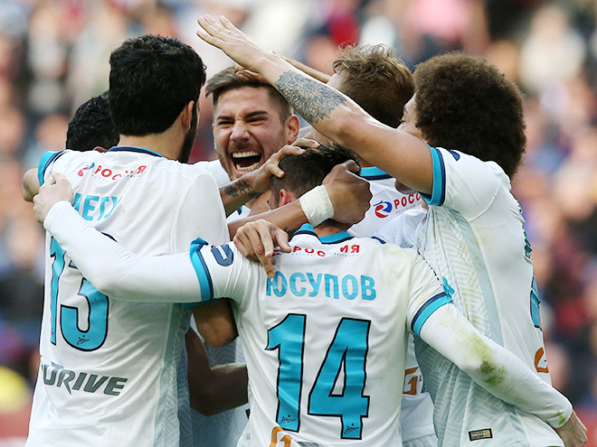 «Мордовия» — «Зенит» - 0:3. 11 мая 2016 г. Видео, голы, обзор матча
