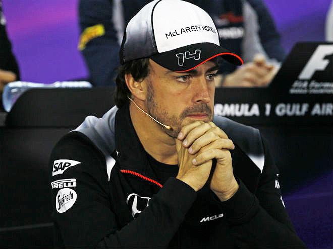 Фернандо Алонсо не выступит на Гран-при Бахрейна из-за повреждений рёбер