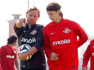 Валерий Карпин и Илья Кутепов