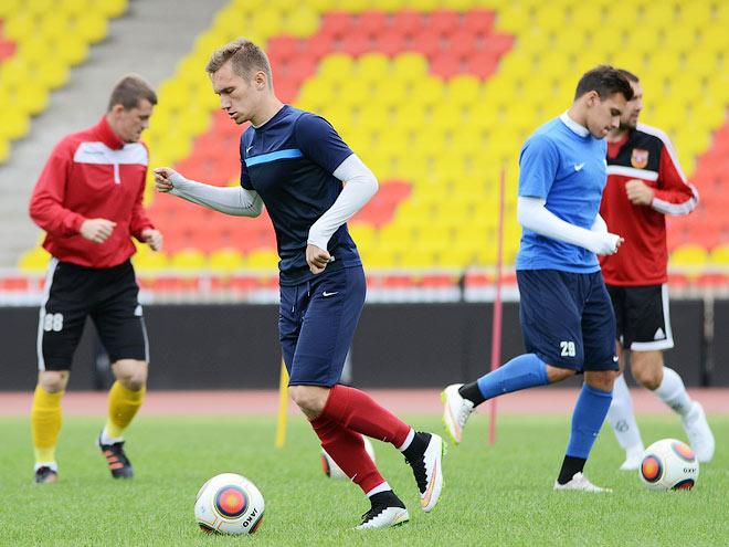 Игроки тульского «Арсенала»