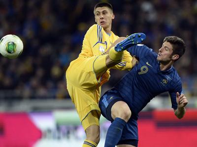 Украинцы вылетели на ответную игру плей-офф ЧМ