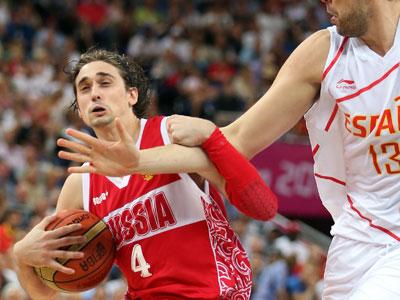 Лондон 2012. Баскетбол. Алексей Швед